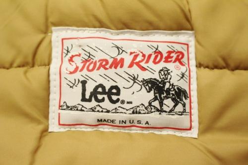 70'S Lee STORM RIDER DOWN VEST (NVY)