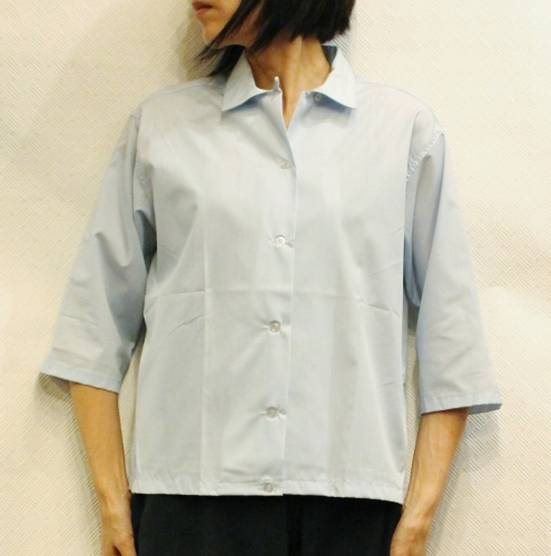 DEAD STOCK 60'S BROAD CLOTH 3/4 SLEEVE BOX SHIRTS (P.BLE)