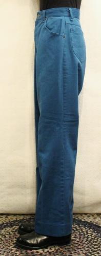 80'S Lee COLORED TWILL 5 POCKET PANTS (D.TQ)