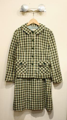 vintage jacket & skirt