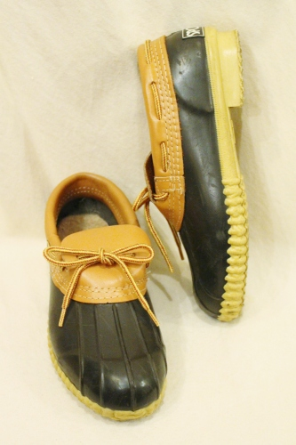 80'S SPORTO DUCK SHOES (MADE IN USA/D.BRN)