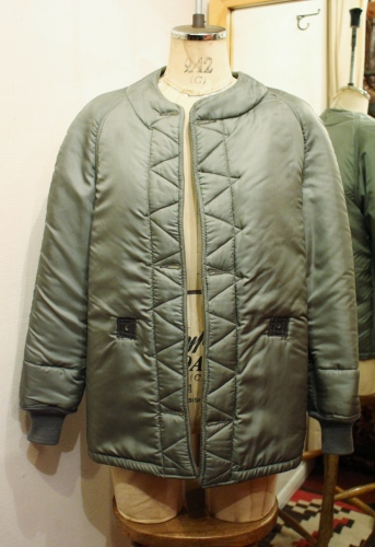 60'S US AIR FORCE LINER JACKET (S.GRN)
