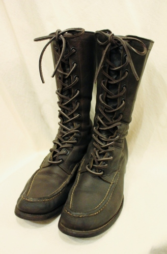 30'S~ ABERCROMBIE & FITCH OUTDOOR BOOTS (D.BRN)
