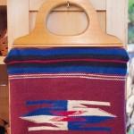 40'S~50'S CHIMAYO BAG WOOD HANDLE(BGY)