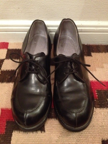 80s us military service shoes