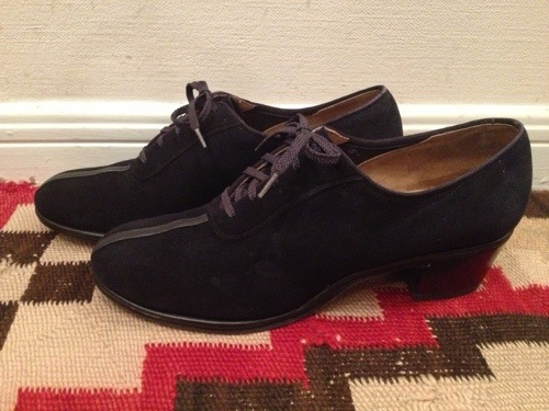 40s womens laceup shoes