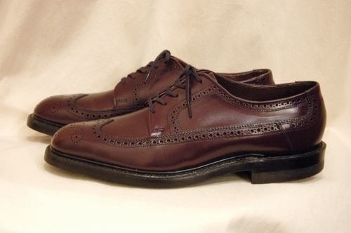 dead stock 60s Kingsway wing tip shoes