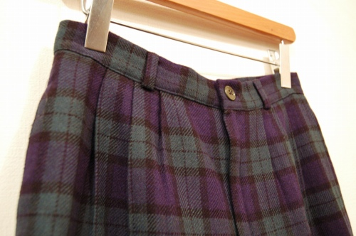used wool short pants