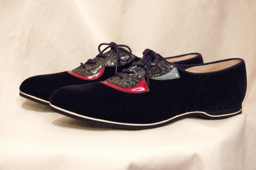 deadstock lace up shoes