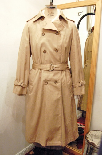 80'S~ ROTH-LE COVER TRENCH COAT(BEIGE)