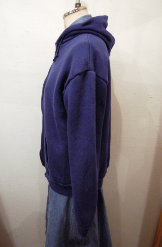 FULL ZIP SWEAT PARKA THERMAL LINING(NVY・MADE IN USA)