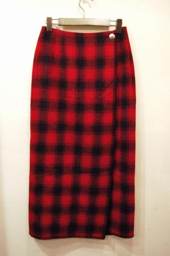 polo country wrap skirt
