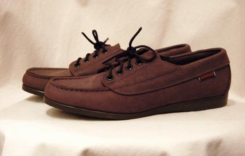 dead stock sebago deck shoes