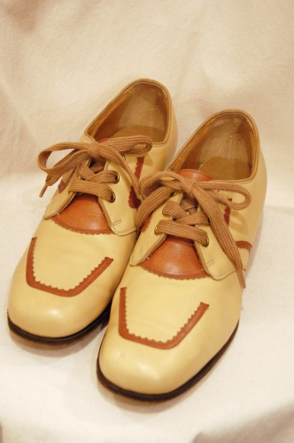vitnage lace up leather shoes