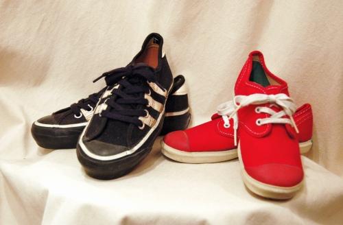dead stock kids canvas sneaker
