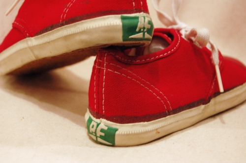 dead stock pf kids canvas sneaker