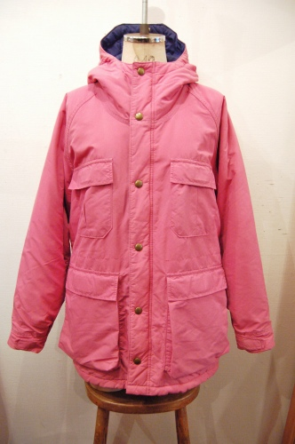 80'S~ L.L.BEAN MOUNTAIN PARKA (MADE IN USA/PNK)