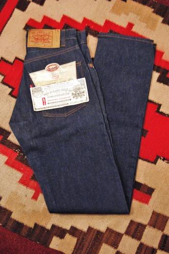 DEAD STOCK 80'S~ LEVI'S 505-0127 DENIM PANTS (28×34)