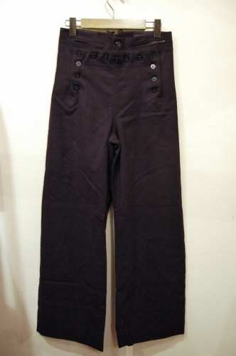 vintage us navy sailor pants