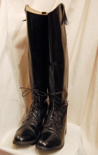vintage jockey boots