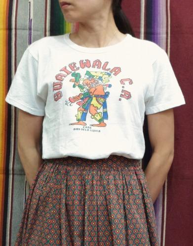 VINTAGE GARUTEWALA PRINTEDE T-SHIRTS(WHT)