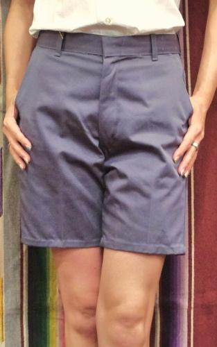 DEAD STOCK 60'S~ KORATRON SHORT PANTS(GRY)