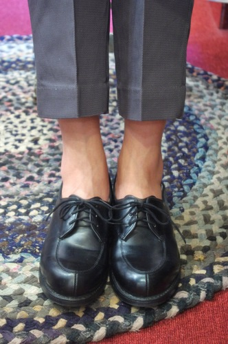 DEAD STOCK 80's~ US MILITARY SERVICE SHOES(BLK)