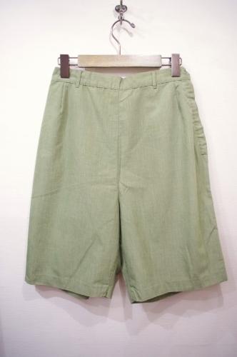 vintage side zip shorts