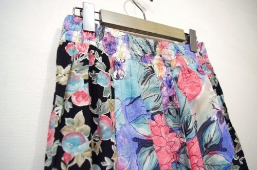 rayon maxi skirt