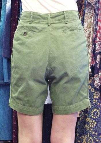 50'S~ BOY SCOUT UNIFORM CHINO SHORT PANTS(OD)