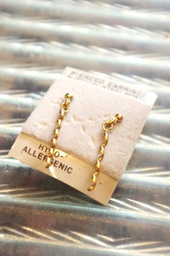 deadstock pierced earring
