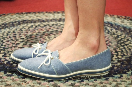 DEAD STOCK 70'S~ CANVAS BOAT SHOES(A.BLE)