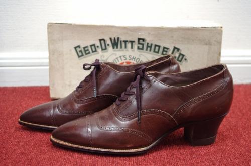 antique lace up shoes