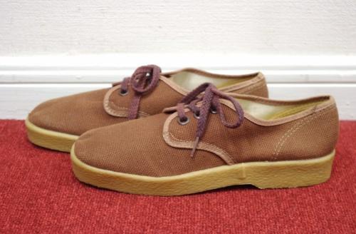 vintage deadstock canvas shoes