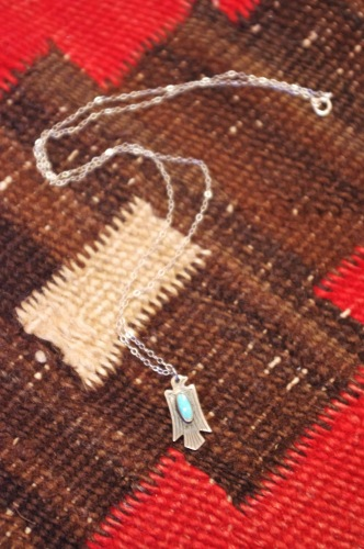 vintage fred harvey style thunderbird pendant