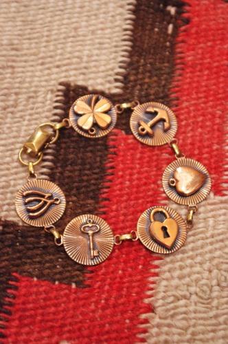 vintage rink bracelet