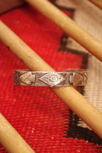 vintage fred harvey style bangle