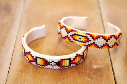 navajo beads bangle