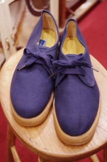 DEAD STOCK 50'S~60's BALL BAND CANVAS SHOES BOOSTER TYPE(NVY)