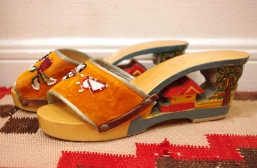 40's Phillipines sandal