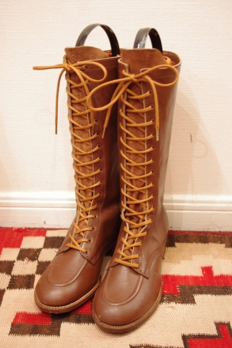 deadstock lace up boots