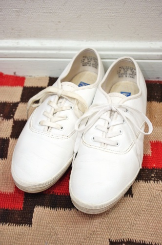 keds leather deck shoes