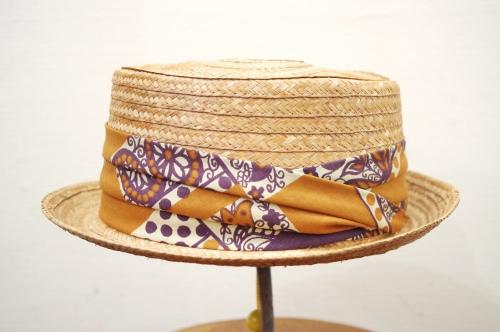 VINTAGE Mc Alloster STRAW HAT(NTRL)