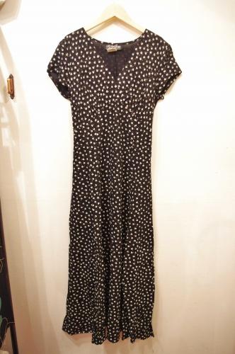 80s rayon dress