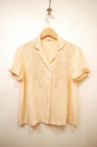 vintage silk blouse