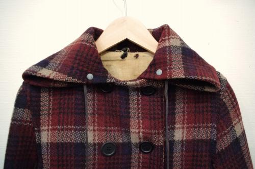 40s check p-coat
