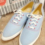 DEAD STOCK 60'S JETS BY BALL BAND CANVAS DECK SHOES(S.BLE)