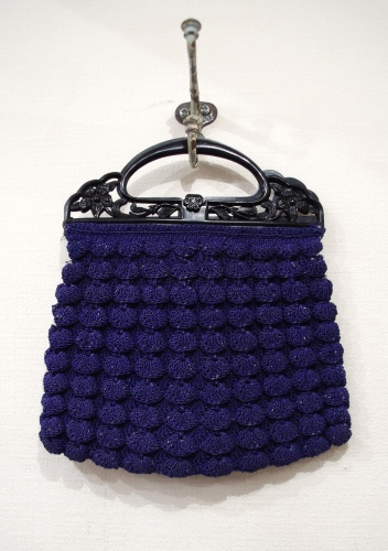 vintage cord bag