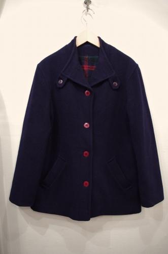 vintage wool short coat