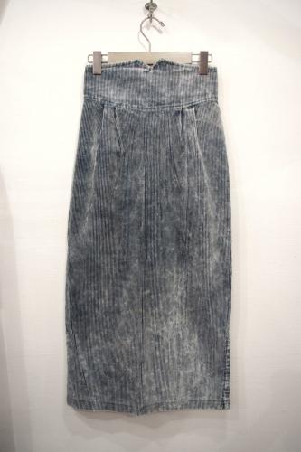 70s corduroy skirt